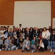 """Premiati i finalisti e i vincitori del Concorso """"Giovani e Social Business"""" 2014/15"""