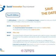 Enrico Testi nella giuria del Social Innovation Tournament
