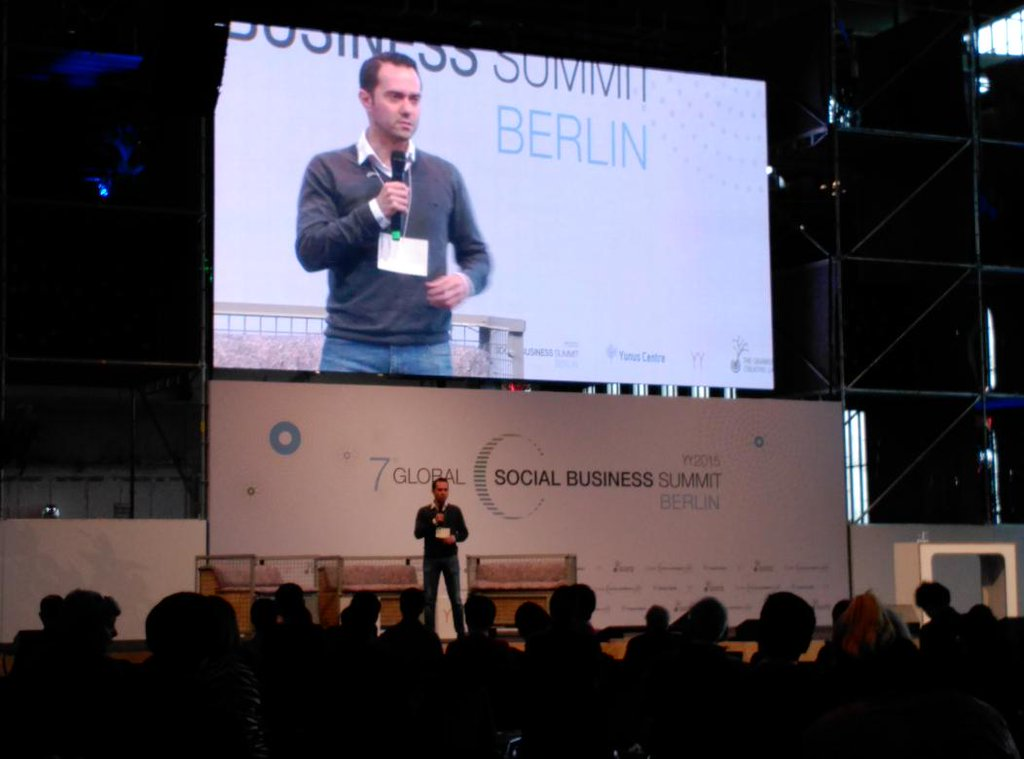 Enrico Testi, Director of YSBCUF GSBS Berlino social change social business GSBS
