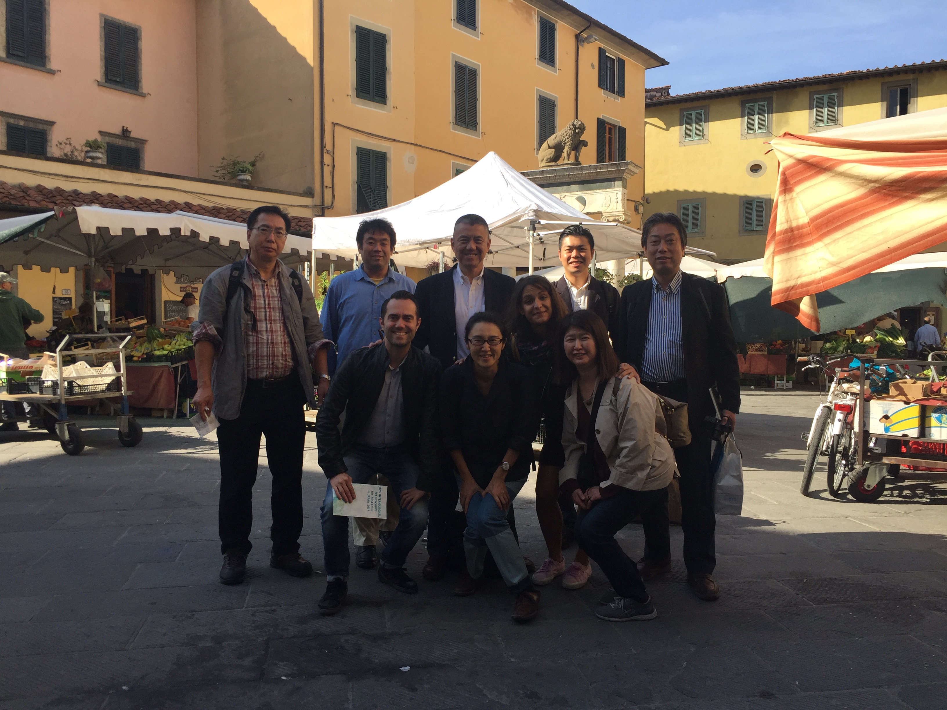 from japan to pistoia