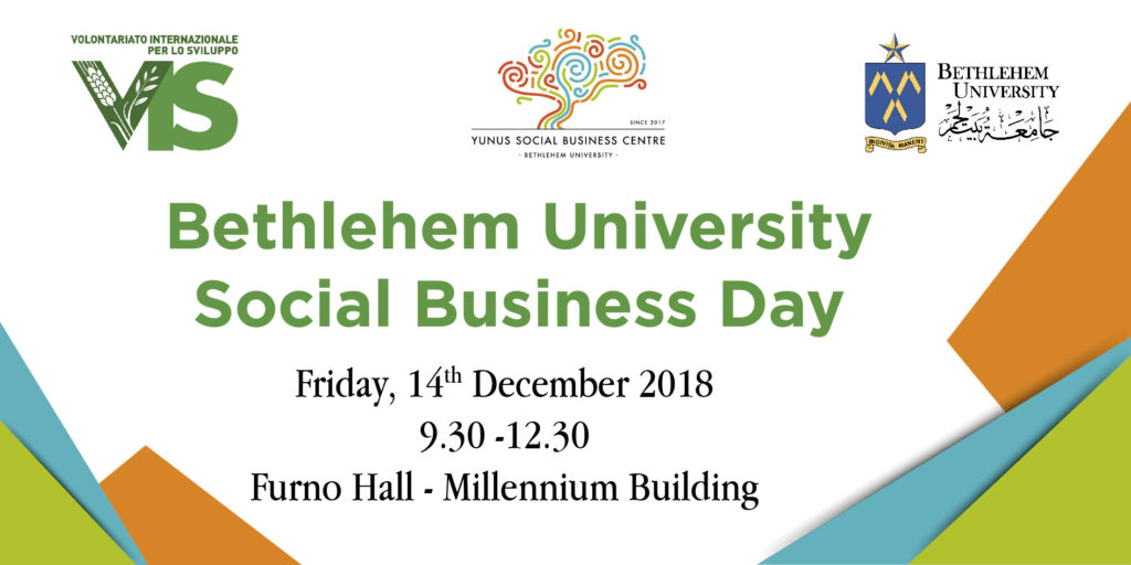 Betlemme Bethlehem social business impresa sociale Palestina West Bank università ricerca