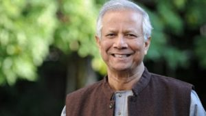 lamp of peace to Muhammad Yunus in Assisi where he will hold a lectio magistralis on circular economy and microcredit